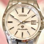 【時計詳細チェック】土佐和紙・雲龍紙文字板のザ・シチズン限定モデル 「The CITIZEN」AQ4021-51W